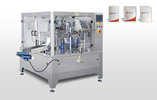 4-sealing pouch packing machine