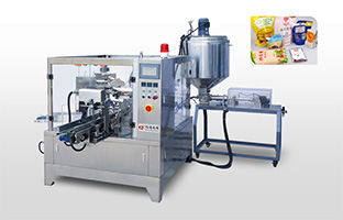 Fruit sauce packing machine