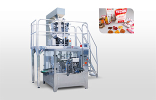 Raisin packing machine